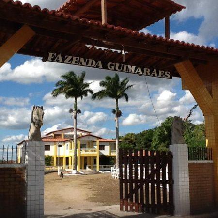 Entrada Hotel Fazenda Guimarães
