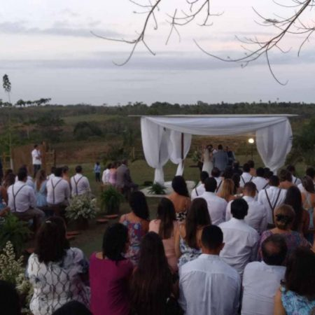 Casamento no Hotel Fazenda Guimaraes - Amelia Rodrigues BA