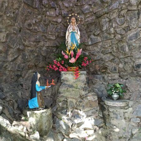 Gruta de Nossa Senhora no Hotel Fazenda Guimarães